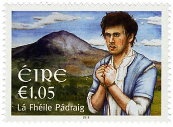 n° 2163 - Timbre IRLANDE Poste