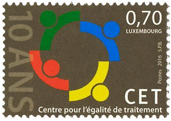 n° 2025 - Timbre LUXEMBOURG Poste