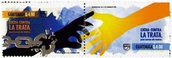 n° 723 - Timbre GUATEMALA Poste