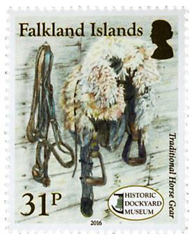 n° 1229 - Timbre FALKLAND Poste