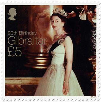 n° 1726 - Timbre GIBRALTAR Poste
