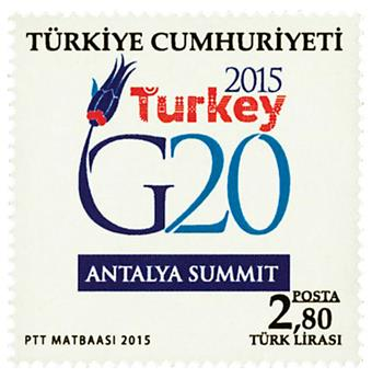 n° 3771 - Timbre TURQUIE Poste