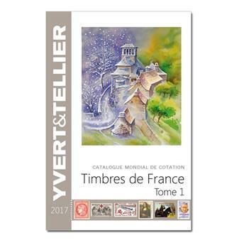 TOME 1 - 2017   Timbres de France