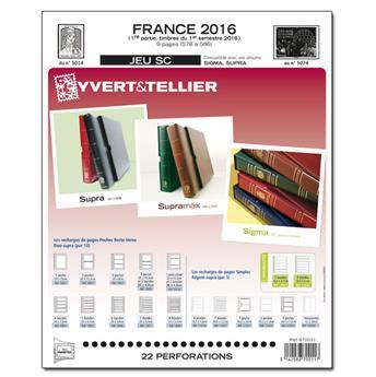FRANCE SC : 2016 - 1ER SEMESTRE (Jeu avec pochettes)