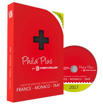 PHILA´PLUS Évolutif 2017 FRANCE (PC+MAC)