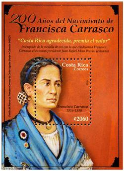 n° 45 - Timbre COSTA RICA Blocs et feuillets
