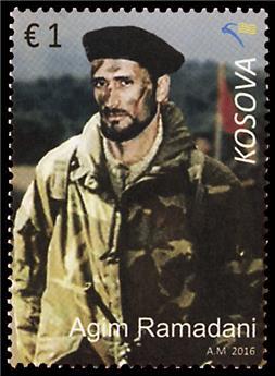 n° 207/208 - Timbre KOSOVO Poste