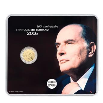 BU : 2 EUROS COMMEMORATIFS 2016 : FRANCE (Mitterrand)