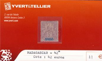 MADAGASCAR - n° 42*