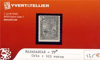 MADAGASCAR - n° 77*