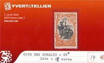 COTE DES SOMALIS - n° 64*