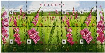 n° 77 - Timbre MOLDAVIE Blocs et feuillets