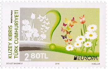 n° 780/781 - Timbre CHYPRE TURC Poste (EUROPA)