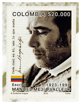 n° 1752 - Timbre COLOMBIE Poste