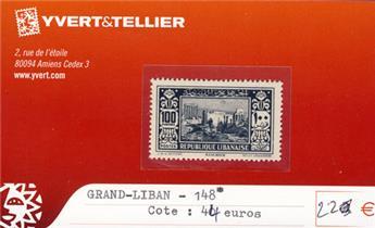 GRAND LIBAN - n° 148*