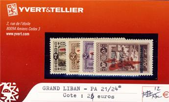 GRAND LIBAN - PA n° 21/24*