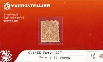 GUINEE - n° 27*