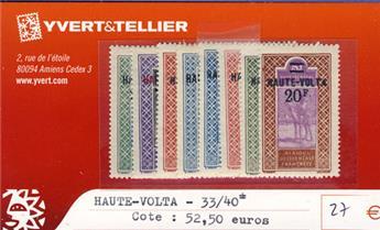 HAUTE-VOLTA - n° 33/40*