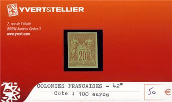 COLONIES FRANCAISES - n° 42*