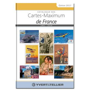 CATALOGUE DES CARTES MAXIMUM DE FRANCE 1901-2016
