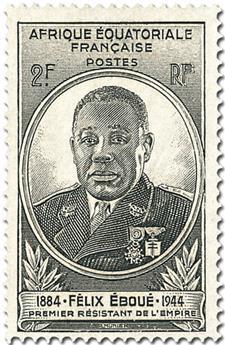 Grande Série Coloniale : Gouverneur général Félix Éboué (1945)