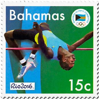 n° 1541 - Timbre BAHAMAS Poste