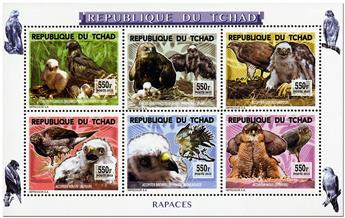 n° 1759 - Timbre TCHAD Poste