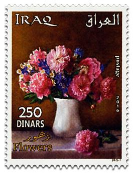 n° 1801 - Timbre IRAK Poste