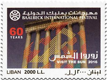 n° 543 - Timbre LIBAN Poste