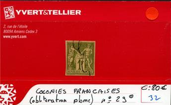 COLONIES FRANCAISES - n° 29 Obl.