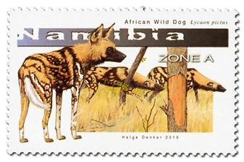 n° 1377 - Timbre NAMIBIE Poste