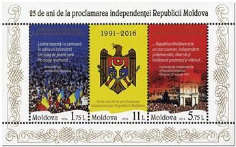 n° 79 - Timbre MOLDAVIE Blocs et feuillets