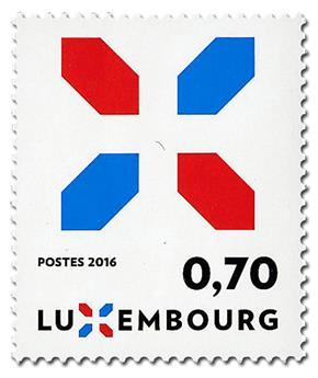 n° 2048 - Timbre LUXEMBOURG Poste