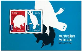 n° 221 - Timbre AUSTRALIE Blocs et feuillets