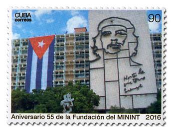 n° 5491 - Timbre CUBA Poste