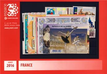 n° 5014/5115  - Timbre France Année complète  (2016)