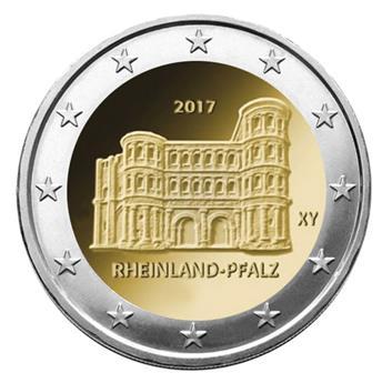 2 euros commemoratifs 2017 allemagne 1 pi ce yvert. Black Bedroom Furniture Sets. Home Design Ideas