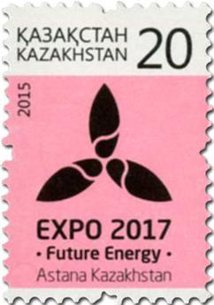 n° 718 - Timbre KAZAKHSTAN Poste