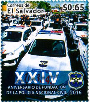 n° 1876 - Timbre SALVADOR Poste