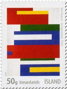 n° 1435 - Timbre ISLANDE Poste
