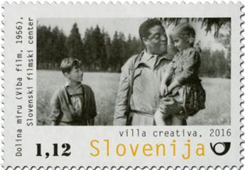 n° 1030 - Timbre SLOVENIE Poste