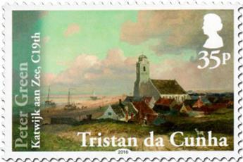 n° 1148 - Timbre TRISTAN DA CUNHA Poste