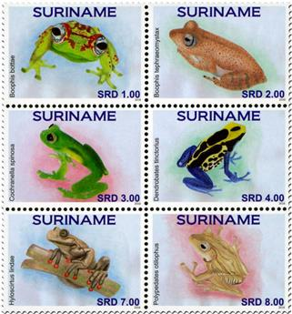 n° 2624 - Timbre SURINAME Poste