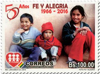 n° 1585 - Timbre BOLIVIE Poste
