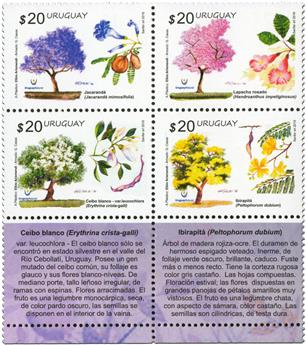 n° 2804 - Timbre URUGUAY Poste