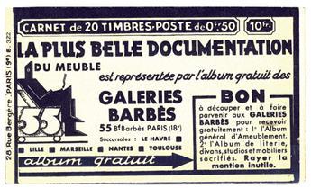 France : Carnet n°283-C25**