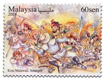 n° 1846 - Timbre MALAYSIA Poste