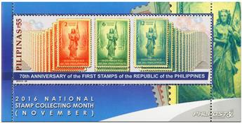 n° 366 - Timbre PHILIPPINES Blocs et feuillets