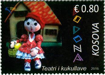 n° 224/225 - Timbre KOSOVO Poste