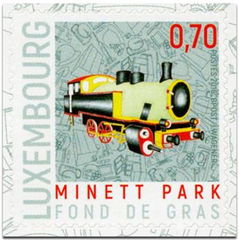 n° 2057 - Timbre LUXEMBOURG Poste